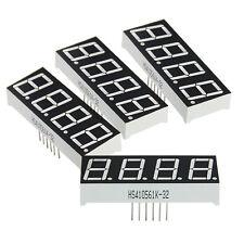 "4 x 0.56"" Arduino digital display 7 Segment 4 Digit common anode LED"
