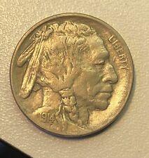 New Listing1914 Buffalo Nickel Ef Xf Extremely Fine
