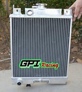 2 Row Aluminum Radiator for Suzuki Swift GTi 1.0 1.3 1.6 1989-1994 1990 1991 MT