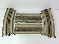 4 Stück graue Gitterbrücke,Metall,Mittelleiter, M-Gleis, Märklin, 7168,7169, HB