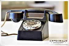 Bauhaus lamiera Fuld telefono modello Francoforte 1930 egli OLD TELEPHONE t&n classico