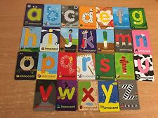 FULL SET OF INNOCENT SMOOTHIE FRIDGE MAGNET 2011 A TO Z