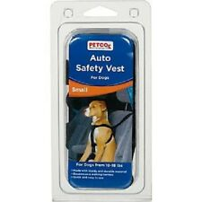 Petco Small Dog Puppy Canine Adjustable Auto Safety Vest Harness, Color:Black