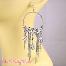 Debenhams Hook Rhodium Plated Fashion Earrings