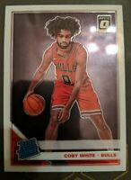 2019-20 Donruss Optic Coby White RC Bulls Rated Rookie #180 Base Rookie Card L2