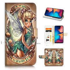 ( For Samsung A30 ) Wallet Flip Case Cover PB21612 TinkerBell