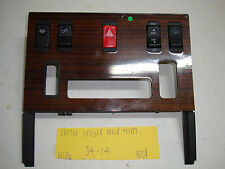 Mercedes-Benz W126 up to 85 300SD 380SE center console wood trim 126 683 09 25