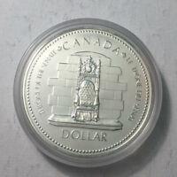 1977 Canada Silver Specimen Dollar Coin, BU UNC