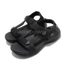 Skechers On The Go 600 Allego Black Strap Men Sports Sandals Shoes 55383-BBK