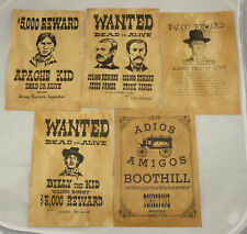 Lot 5 affiches USA Western , Cowboys ( 003 )
