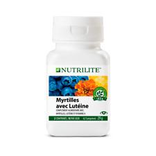 NEW Myrtilles avec Lutéine NUTRILITE™ idéal vue - santé des yeux - 62 comprimés