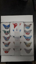 CREATIVE TOPS V&A BUTTERFLY CHARM PLACE MATS AND COASTERS SET OF 4 EACH