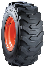 Pair of 2 Carlisle Trac Chief R-4 Industrial Tires - 28X8.50-15 6PLY Rated
