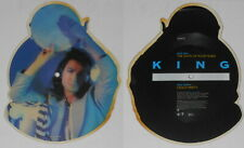 King - The Taste Of Your Tears - U.K. shaped picture disc vinyl