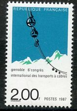 STAMP / TIMBRE FRANCE NEUF N° 2480 ** TRANSPORTS A CABLES