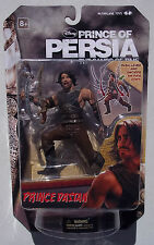 DISNEY PRINCE OF PERSIA SANDS OF TIME. PRINCE DASTAN WARRIOR GARB. 6 INCH. NOC