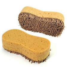 Practical Cleaning Sponge Washing Cleaner Coral Microfiber Sponge Brush Auto Car