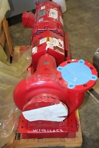 NEW Bell & Gossett base mounted pump 1510 BF 9.500 GPM 688 20HP