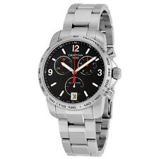 Certina DS Podium Chronograph Black Dial Stainless Steel Mens Quartz Watch