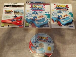SONIC & ALL STAR RACING TRANSFORMED LIMITED EDITION PS3 PLAYSTATION 3 PREOWNED