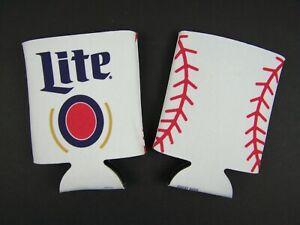 Miller Lite Beer Can Koozie 2 Piece Lot