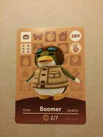 Animal Crossing Amiibo Karte Boomer/Max #289
