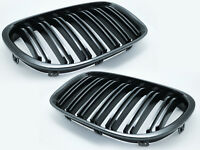 Replacement Front Grille For 09-15 BMW F01 F02 730d 740i 750i - Glossy Black