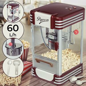 Jago® Profi Retro Popcorn Maschine Maker Popcornautomat Popcorngerät Cinema Kino