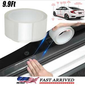 Car Door Sticker Protector Sill Scuff Cover Plate Bumper Body Anti Scratch Strip