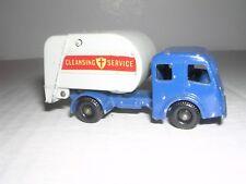 Matchbox #15c  Dennis Tippax Refuse Truck  - Blue & Gray