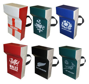 Rugby Professional Grade Tackle Wedge Hit Shield Pads - Choose Your Country