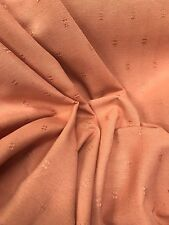 Curtain Fabric Laura Ashley Petite Fleur Jacquard Copper 16 Metre Roll
