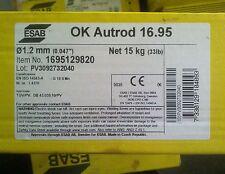 Schweissdraht Edelstahl ESAB OK Autrod 16.95 1.4370 1,2mm 15kg  K-300