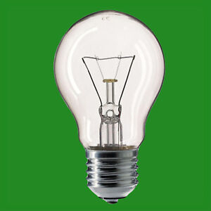 10x 40W 12V Low Voltage GLS Clear Dimmable ES E27 Edison Screw Light Bulb Lamp