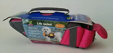 NIP Top Paw Brand K9 Dog Life Vest Jacket Size X Small 11-18 lbs. Hot Pink