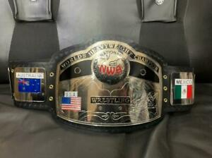 NEW NWA TITLE WORLDS HEAVYWEIGHT CHAMPION TITLE WRESTLING USA CHAMPIONSHIP BELT