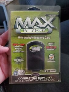 Original Xbox 16MB Max Memory Card Tested And Working Datel With Original Box
