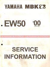 YAMAHA / MBK EW50 EW 50 2000 ( 5JH1-SE1 ) : Service Information