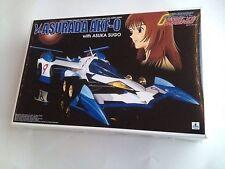 Aoshima 1/24 Scale Cyber Formula Kit Nu-Asurada AKF-0 With Asuka Sugo Figure