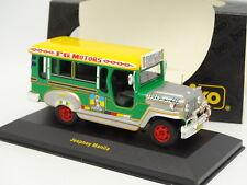 Ixo 1/43 - Jeepney Taxi Manila Manila