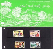Isle of Man 1981 Colonel Mark Wilks Presentation Pack