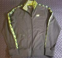 mens New balance full zip track jacket size Large