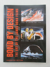 Bond By Design Excerpted Edition The Art of James Bond Films 007 Promo DK NEW