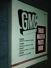 1965 1966 GMC TRUCK BOUND PARTS CATALOG  / ORIGINAL BOOK PICKUP PANEL SUBURBAN