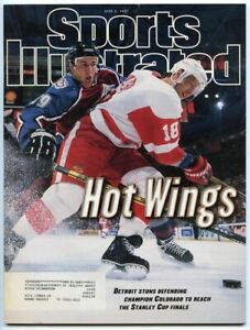 SI: Sports Illustrated June 2, 1997 Kirk Maltby Eric Messier, Hockey, VERY GOOD