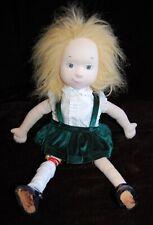"Eloise Madame Alexander Doll Soft Rag Green Dress 18"" Doll Plush #2"