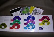 Broderbund Print Shop Version 10 (9 CDs w/ Holder & User's Manual). Plus extras.