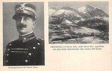 A1295) WW1 ALPINI ARBARELLO IL CONQUISTATORE DEL MONTE NERO, DREZENCA.