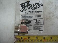 International DT360 '94 & on & DT466 '94-'04 EZ Oil Drain Valve # EZ-5 25mm-1.5