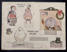 1956, Polly Flinders and the Snowman Paper Doll, Jack & Jill Mag